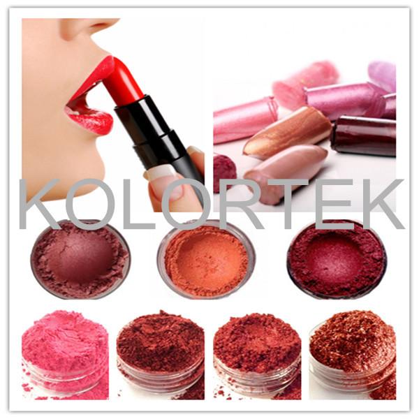 High Pigment Make Up Lipstick, natural red lipstick pigment, mica pearlescent pigment