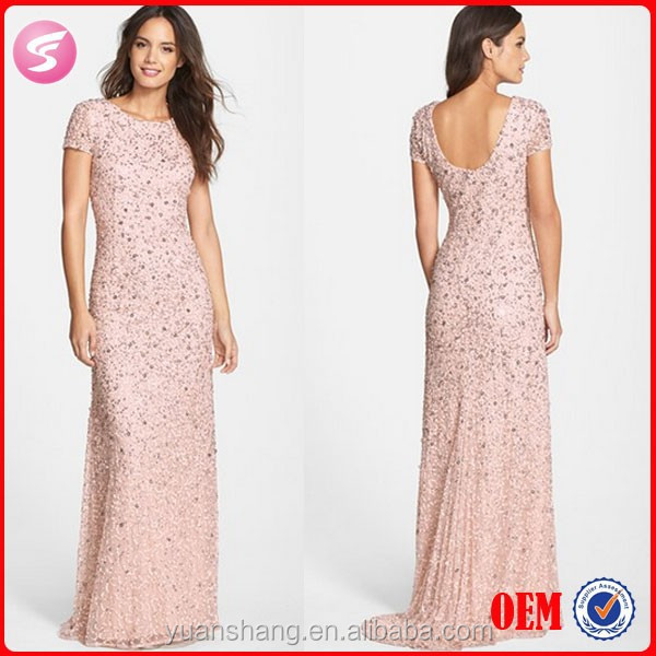 Latest Gown Designs Evening Gown Ladies Long Party Wear Gown