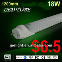 18w 1200mm T8 led tube light replace traditional fluorescent lamp led PIN TYPE