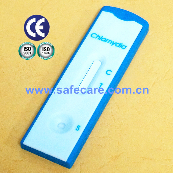 CE ISO13485 Certificated Rapid Diagnostic Chlamydia Test Kit