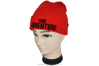 True Adventure TA3-003 New Unisex Men Hip-Hop Warm Winter Wool Knit Ski Beanie Slouchy Cap Hat navy blue, red,pink,brown,green