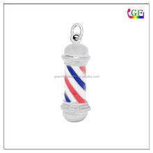 LIGHT BARBER POLE charm
