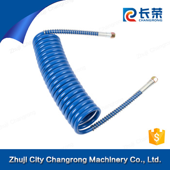 air brake reinforced coils hose