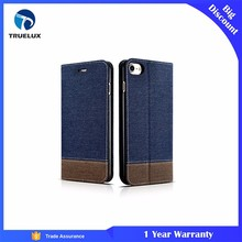 Alibaba China Factory PU Leather Case for iPhone 8 Cover Stand Wallet Flip Leather Case