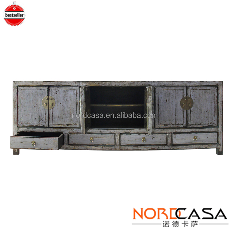 New Unique color TV cabinet furniture antique in chinese antique furniture