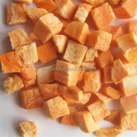 FD carrot New Products Freeze Dried Vegetables Bulk