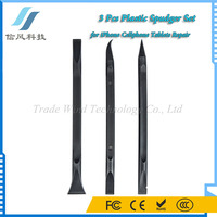 3 Pieces Professional Plastic Spudger Tool Repair Opening Tools Kit for Cell Phone Laptop Black