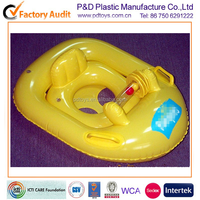 The new 2016 baby swim ring The horn car take a boat pattern by PVC inflatable boat