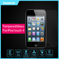 Tempered Glass Screen Protector For iPod Touch 4 Anti-shutter&Cracked 9H 0.33mm for iPod Touch 4