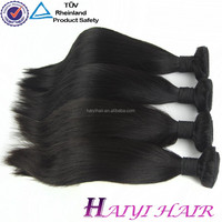 Direct Hair Factory Large Stock 8A Unprocessed Wholesale Straight Peruvian Virgin Hair