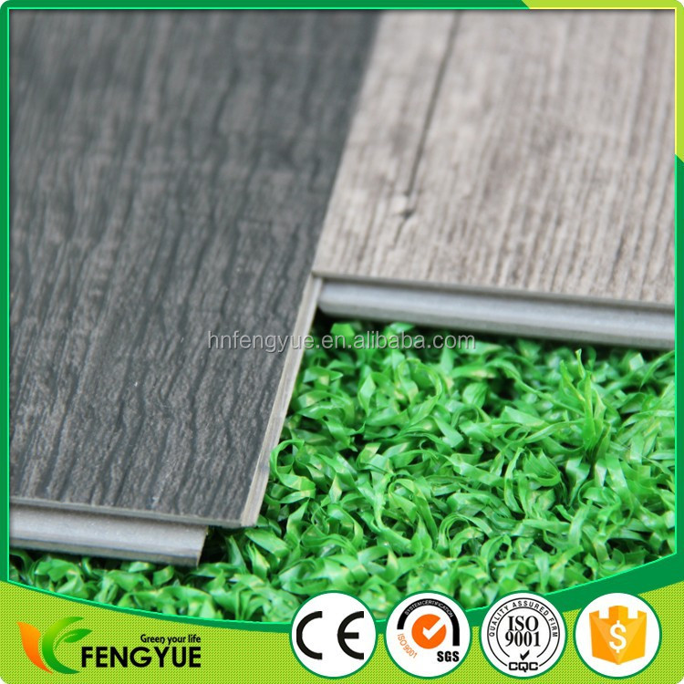 100% Virgin Material PVC interlocking waterproof vinyl plank flooring lowes