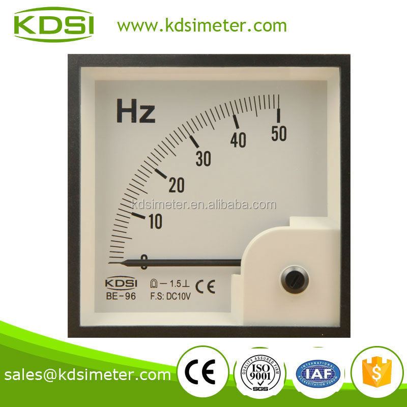 Classical BE-96 DC10V 50Hz frequency meter
