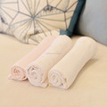 Skin Friendly Pure Cotton Soft Pink Baby Blanket