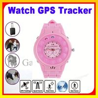 Wrist Watch Mobile Phone GPS Tracker Watch For Senior