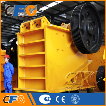 High Performance AC Motor Jaw Crusher Manufacturers in India