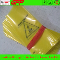 China vci protective colourful anti rust flat plastic bag