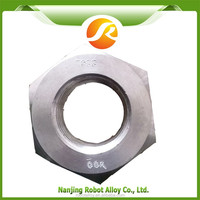 Hastelloy B3 pressed square nut , hex nut iso 4032 stainless steel , hex nut lock