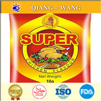 Bag Packing chicken seasoning powder 10g/bag , 360 bags/carton