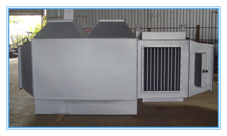 2016 Big exhaust gas heat exchanger as waste heat recovery