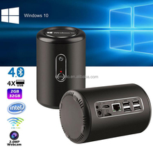 Cheap tv box home use mini pc intel Z3736F quad core win10 computer