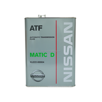 Japanese manufacturer MATIC D ATF 4Litres Engine oil