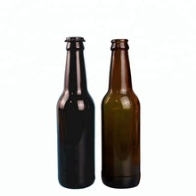 330ml /11oz amber beer glass bottle with crown cap 500ml 650ml amber glass beer bottle