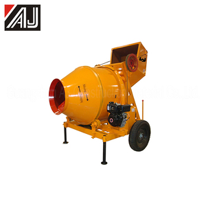 Hot Sale Concrete Machine !!! 350L Diesel Concrete Mixer for Sale With 10-14m3/h Productivity,Guangzhou Manufacturer