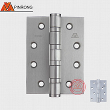 433 High quality staintess steel ball bearing fix pin or loose pin wooden door butt hinge ZHONGSHAN OEM factory