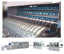 Model BSY series high speed glass bottle I.V infusion Automatic production line