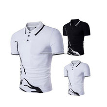 Promote Items Short Sleeve Breathable Print Wholesale China Polo Shirts