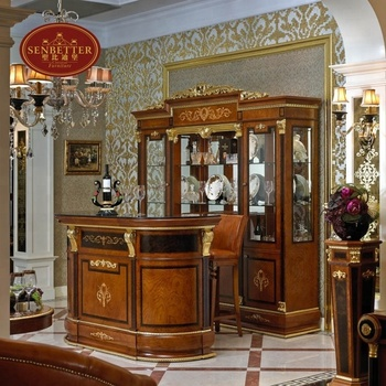 Excellent 0038 Classic Wooden Bar Set Antique Luxury Bar Table And Chairs View Wooden Bar Set Sebetter Product Details From Foshan Youbond Furniture Co Download Free Architecture Designs Rallybritishbridgeorg