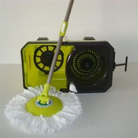 With Driver Easy Twist Mop With Wheels As Seen on TV 2014 New Product Easy Twist Mop