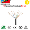 China Bare Copper 4 pair UTP Network Cable Cat5e cat6 coaxial cable
