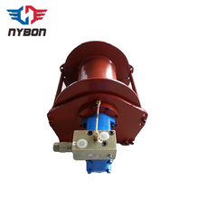 1-20Ton high speed hydraulic winch for lift goods free fall function