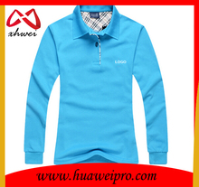 Free Sample Wholesale High Quality fitted bamboo Women Blank Custom Polo Shirt