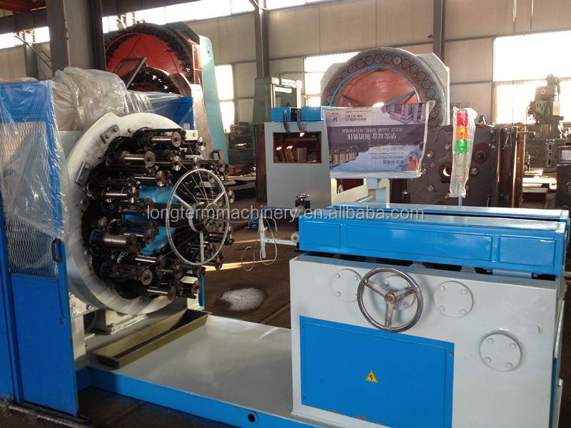 24-96 spindles/carriers Horizontal wire braiding Machine