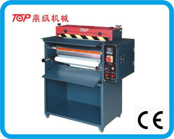 leather heating roller pressing machine