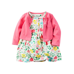 Professional toddler boutique clothing girls lovely new style baby dress designs