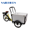 Ice Cream Cargo Tricycle Bike Refrigerator