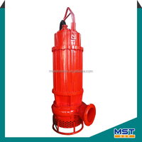 Submersible sand dredging pump equipment for river or lake