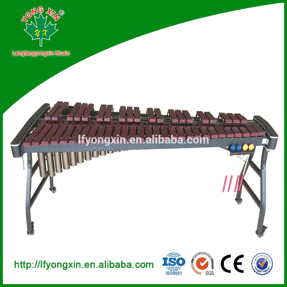 Voos baratos da china brinquedo 49-Nota Redwood Xilofone marimba vibrafone Percussão Instrumento Musical de madeira para venda