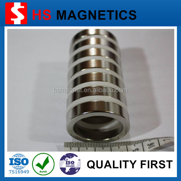 N42 multipoles neodymium ring radiation magnet