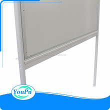 Office interactive double-sided magnetic mobile free whiteboard with stand