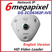 HIkvision DS-2CD6362F-IVS 6MP Fisheye IP Network Camera 360 Degree Surveillance Camera