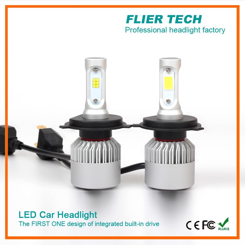 Flip Chip auto C6S headlight car without ballast design lower price