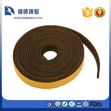 EPDM door seal with tape