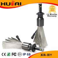 2017 New generation H4 H11 H7 replace halogen bulb high power led headlight bulb
