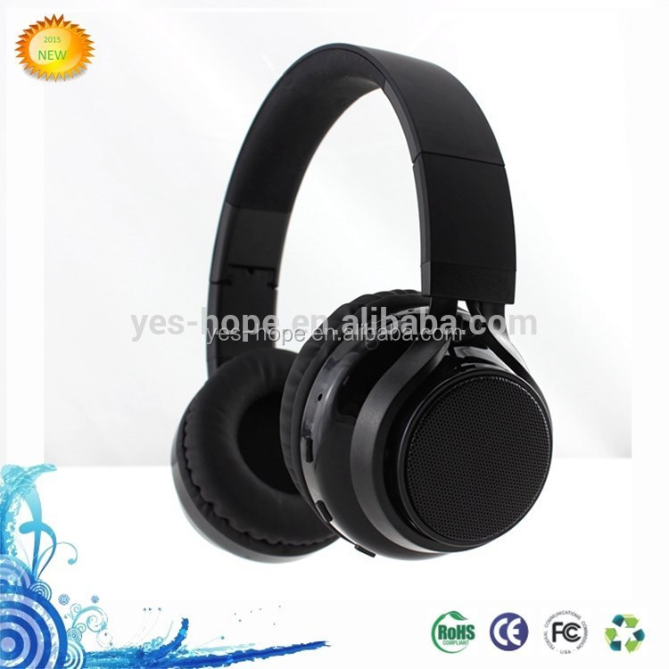 Wholesale High-End On-Ear Wireless Bluetooth Headphones With Stereo Sound