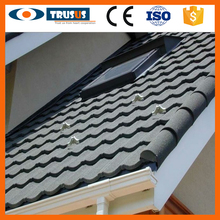 Environment Friendly Aluminum Zinc Plate Colorful Stone Coated Metal Roofing Tile