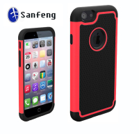 Shockproof football cell phone case for apple iphone 6 6s;for iphone 6s 3 in 1 radiation-proof cellular faceplate